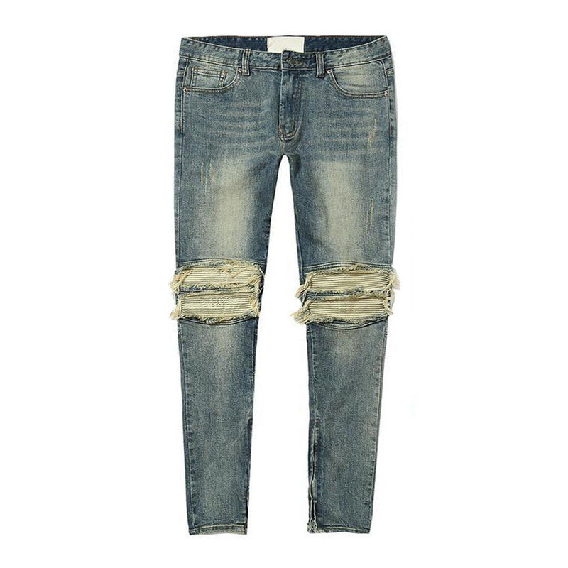 BIKER DENIM - BLUE