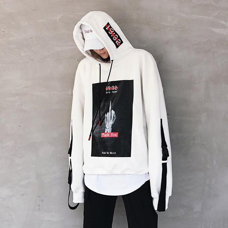 F*CK YOU HOODIE White