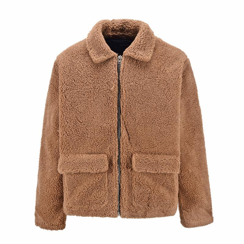 FLEECE SHERPA JACKET