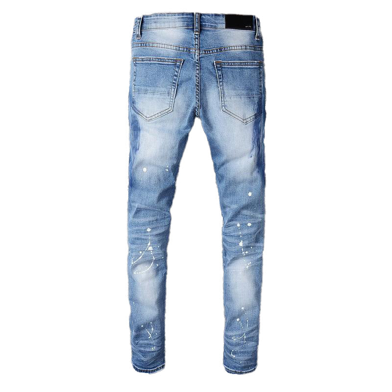CRYSTAL DESTROYED DENIM V3