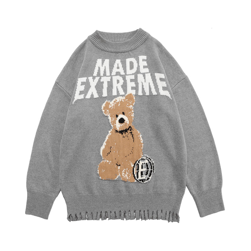 KNIT BEAR SWEATER