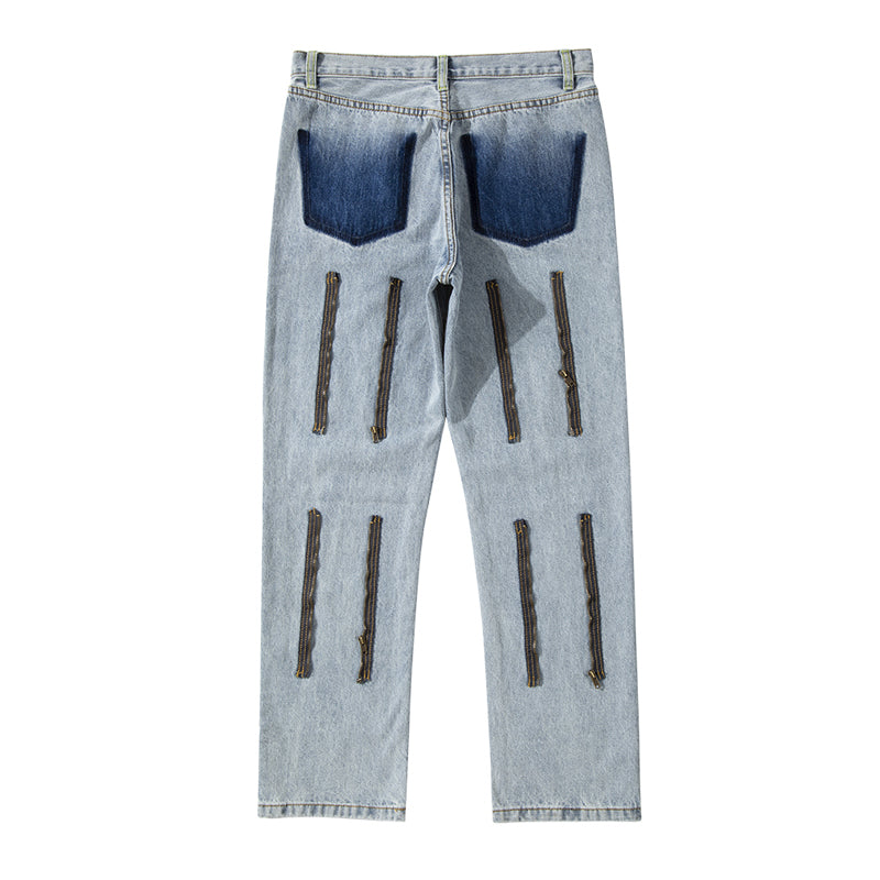 ZIPPER DENIM