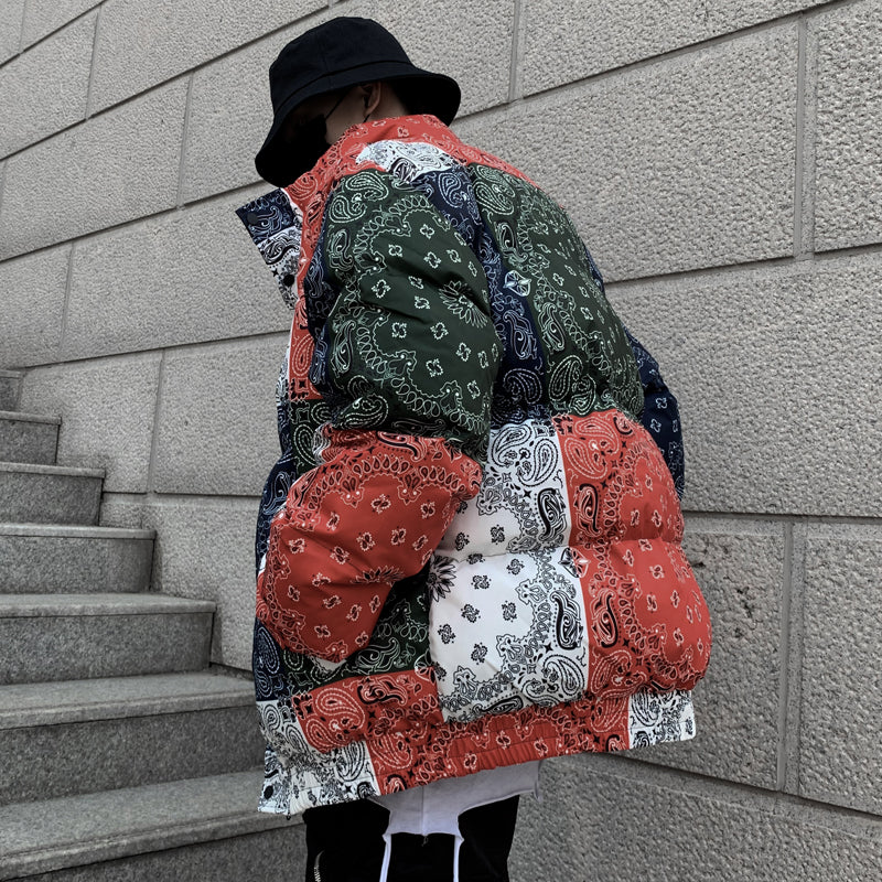 BANDANA DOWN JACKET
