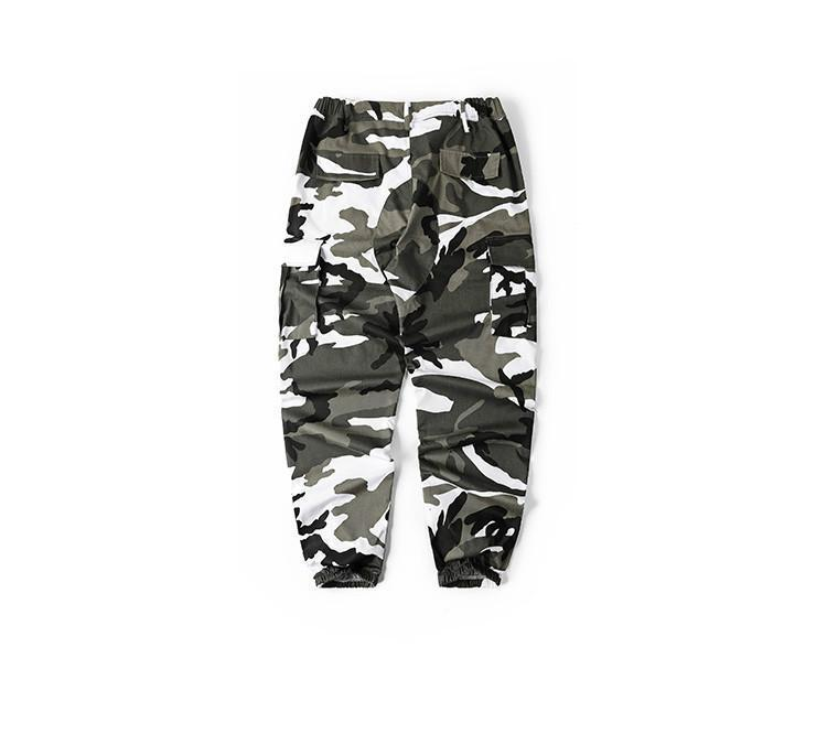 ESSENTIAL CAMO PANTS - GREY