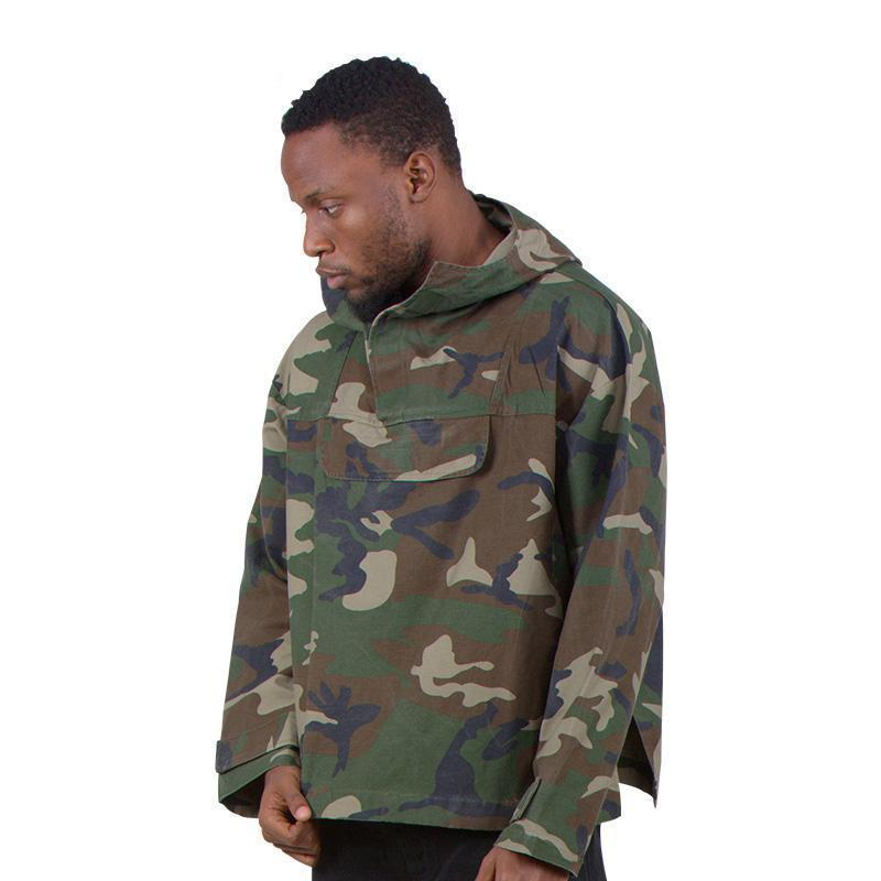 CAMOUFLAGE WINDBREAKER STREETFASHION