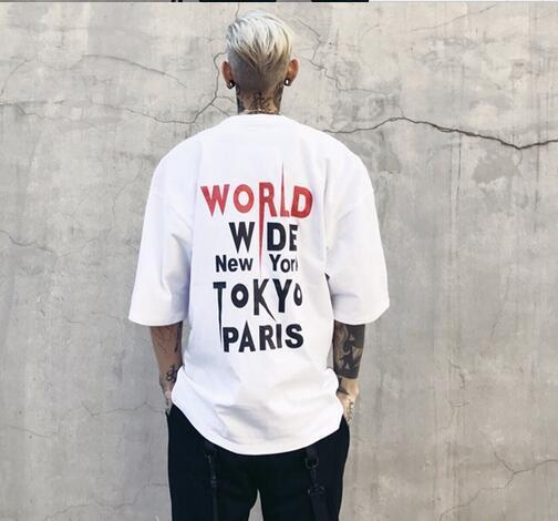 """WORLD WIDE"" T-SHIRT - WHITE STREETFASHION"