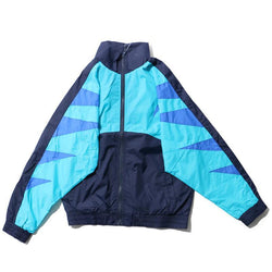 VINTAGE WINDBREAKER JACKET - SKY BLUE