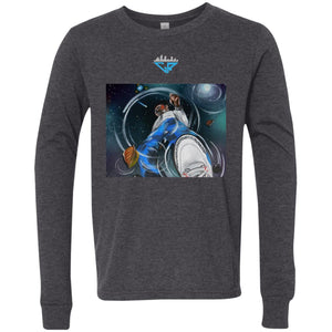 Space Reflection City Racks Youth Jersey LS T-Shirt