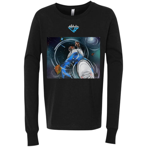 Image of Space Reflection City Racks Youth Jersey LS T-Shirt