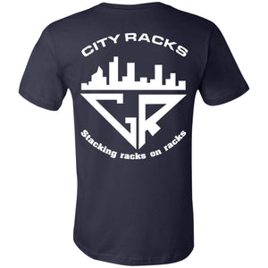 Space Reflection City Racks Youth Jersey Short Sleeve T-Shirt