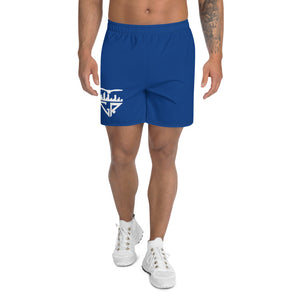 City Racks Active, Men's, Athletic, Blue, Long Shorts