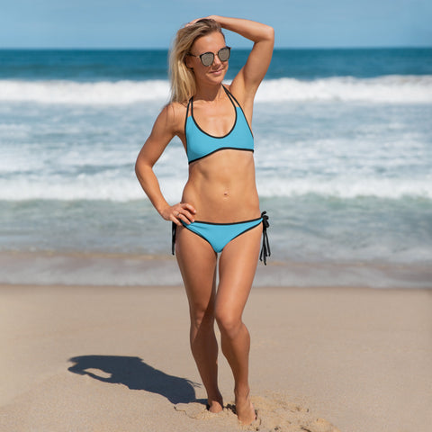 Image of City Racks Active, Two-Piece, Reversible, Turquoise, Bikini