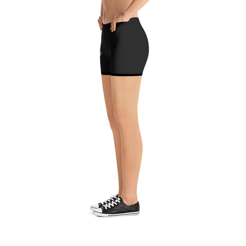 Image of City Racks Active, Black, Women's, Fitted Shorts