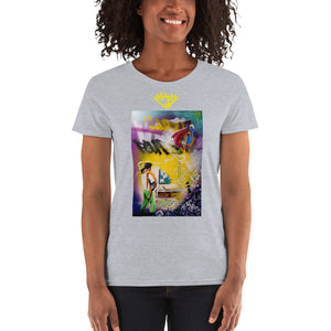 City Rack's, Super Dad Dreams, Women's, short sleeve, t-shirt