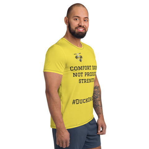 Image of City Racks Active, Comfort Strength, Yellow, Men's Athletic T-shirt