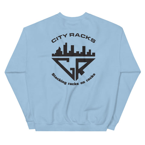 City Racks, I like 'em Thicker than Cold Peanut Butter, Men, Sweatshirt