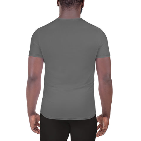 Image of City Racks Active, We All Look the Same Until..., Men's, Gray, Athletic, T-shirt