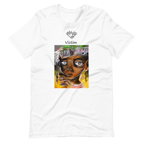 Image of City Racks, Victim, Women's, Short-Sleeve Unisex T-Shirt
