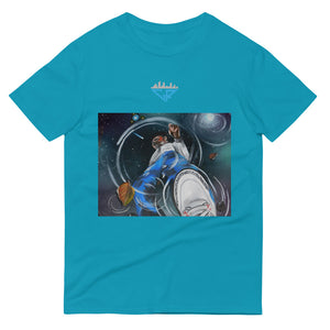 City Racks, Space Reflection, Men's, Short-Sleeve, T-Shirt