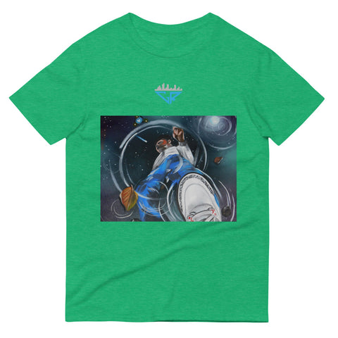 Image of City Racks, Space Reflection, Men's, Short-Sleeve, T-Shirt