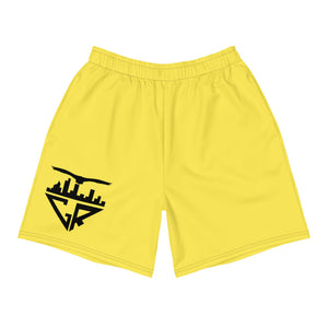 City Racks Active, Men's, Athletic, Yellow, Long Shorts