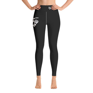 City Racks Active, DUCK OR EAGLE?, Women's, Black, Yoga Leggings