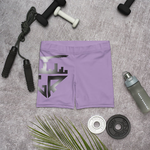 Image of City Racks Active, Lavender, Women's, Fitted Shorts