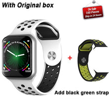 Charger l'image dans la galerie, Newest F8 Bluetooth Smart watch Heart Rate Monitor Smart band Bracelet Screen Steps Distance Calories Sports Wrist Watch watches