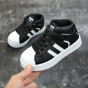 Winter Kids Shoes for Baby Sneakers Fashion Kids Shoes Casual Shoes High Top Sport Shoes Running Shoes Toddler Children Sneakers