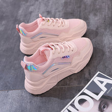 Charger l'image dans la galerie, Women Fashion Running Shoes Comfortable Mesh Breathable Non-Slipper Sneakers Light Weight Outdoor Travel Walking Sports Shoes