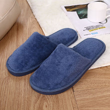 Charger l'image dans la galerie, Slippers Men Winter Fleece House Shoes Floor Lovers Home Shoes Warm Soft Flats Solid  Men Shoes Indoor Slip-On Shoes  #YL5