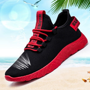Male Air Mesh Lace Up Wear-resistant Shoes Men Sneakers Tenis Masculino Breathable Casual No-slip Men Vulcanize Shoes