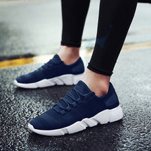 Charger l'image dans la galerie, Male Air Mesh Lace Up Wear-resistant Shoes Men Sneakers Tenis Masculino Breathable Casual No-slip Men Vulcanize Shoes