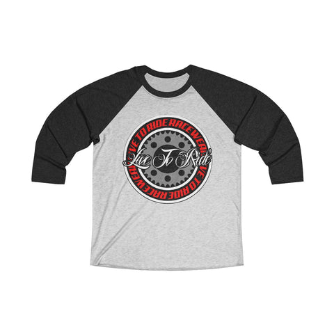 Live To Ride Racewear - The Circle 3/4 Tee