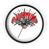 Straightliners Wall clock