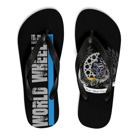 Unisex World Wheelie Flip-Flops