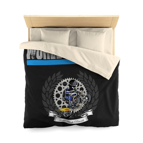 Microfiber World Wheelie Duvet Cover