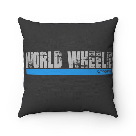 World Wheelie Square Pillow