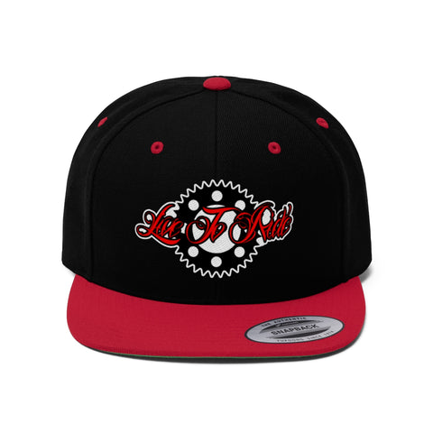 Sprocket Embroidered Snap-back
