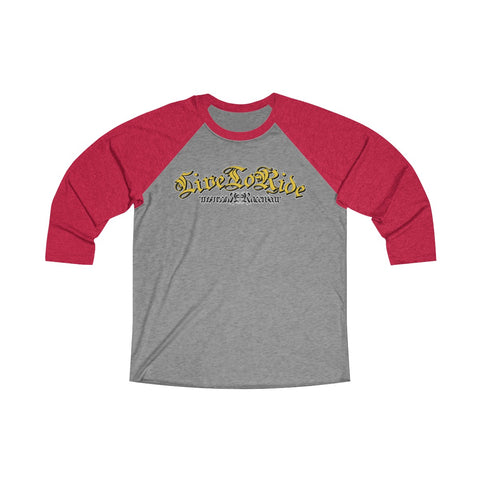Live To Ride Racewear - Classic 3/4 Tee