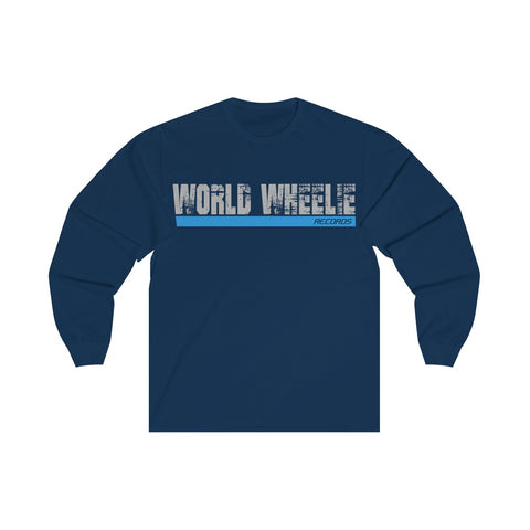 Unisex Long Sleeve World Wheelie Records Tee