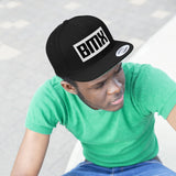 BMX Embroidered Snap-back