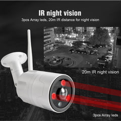 Caméra Bullet IP WIFI 1080 P vision nocturne 20 M APP CamHi BoaVision