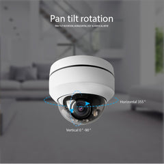Caméra motorisé PTZ IP 1080P WIFI BoaVision CCTV application mobile HiSee