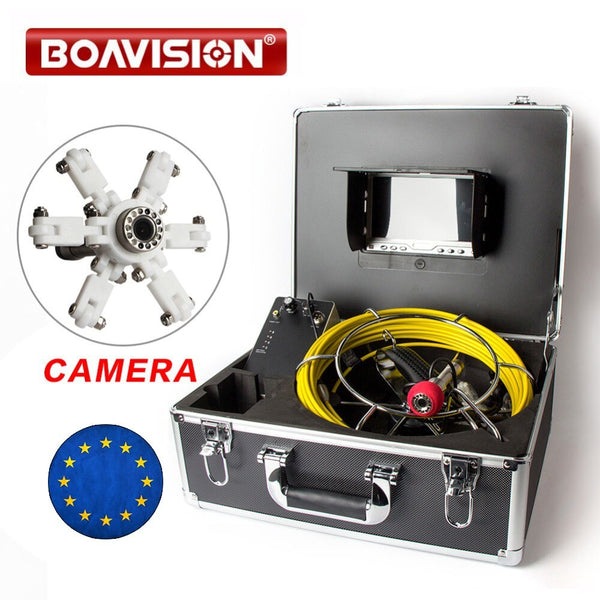 Caméra d'inspection endoscope BoaVision 12LED Blanc , Plafond , égout , canalisation