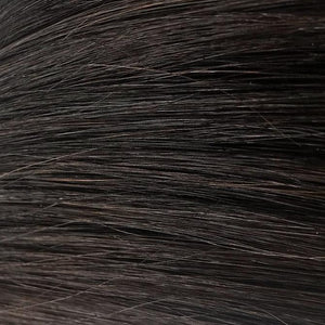 Darkest Black/Brown Itip Hair Extensions #1B