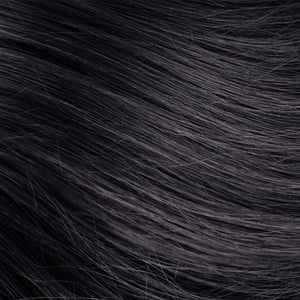 Classic Black Hand Tied Weft Hair Extensions #1