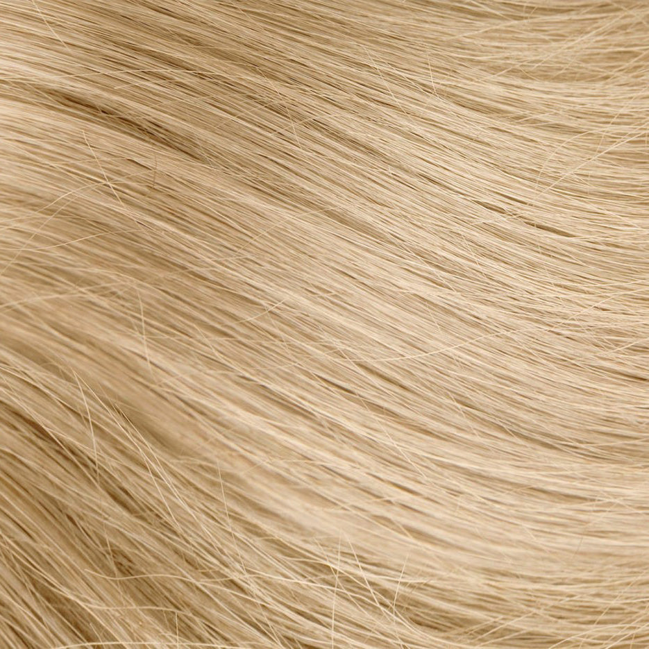 Golden Blonde Nano Bead Hair Extensions #24