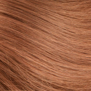 Strawberry Blonde Hand Tied Weft Hair Extensions #27