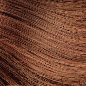 Light Red Brown Nano Bead Hair Extensions #30